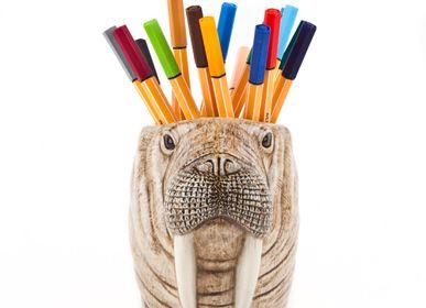 Ceramic - Walrus pen pot - QUAIL DESIGNS