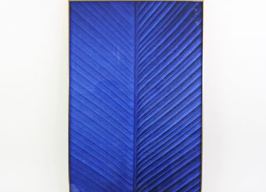 "Art photos - Painting ""Blue Illusion"" - WERNER VOSS"