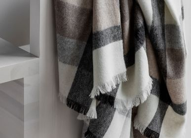 Throw blankets - Recycled alpaca wool // The Intersection Collection - ELVANG DENMARK A/S
