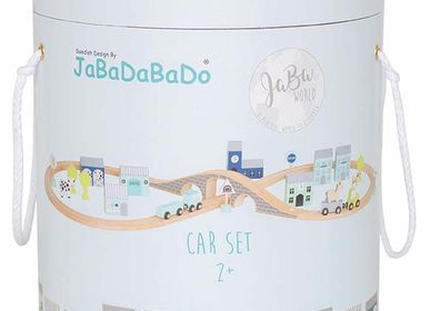 Loisirs créatifs - Circuit voitures en bois - JABADABADO
