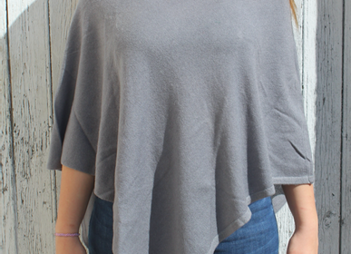 Children's party goods - Cashmere poncho. Handmade with love and care. - PECHAAN