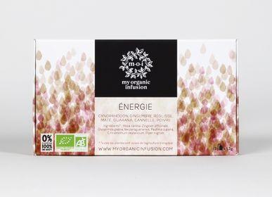 Coffee / tea - Energy tea-bags box - MY ORGANIC INFUSION