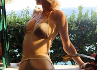 Prêt-à-porter - Bikini Palombaggia Bicolore  - BLEU DE VOUS