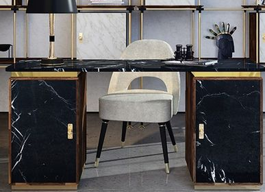 Tables pour hotels - Lasdun | Bureau - ESSENTIAL HOME