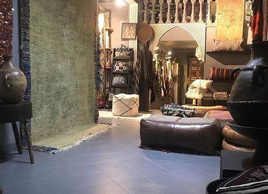 Fabric cushions - ottoman and cushion - BIBI ART CARPET