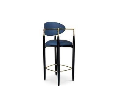 Chairs - Nahéma Bar Stool - KOKET