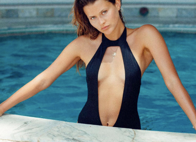 Apparel - Black Chloé One Piece Swimsuit  - BLEU DE VOUS