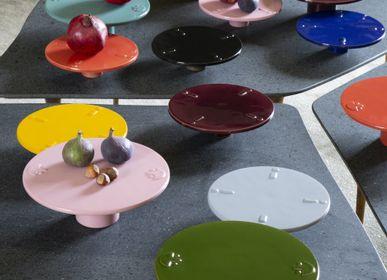 Céramique -  Nénuphar M - Plat sur socle - DRAGONFLY