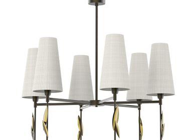 Ceiling lights - Leaf Fall- Ceiling Lamp - VILLA LUMI