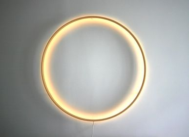 Design objects - Wall lamp _O  - HENRI BURSZTYN