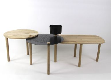 Coffee tables - PETITE TABLE BASSE DIZY by LA MAILLERIE - DIZY
