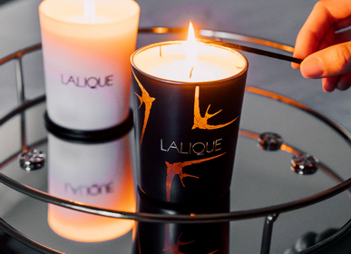 Decorative objects - THE NIGHT, NAIROBI - KENYA, SCENTED CANDLE - LALIQUE VOYAGE DE PARFUMEUR