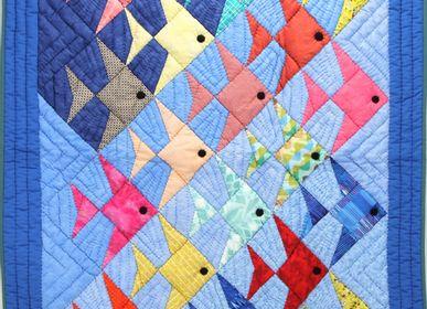 kids linen - Boutis Handmade Quilt fair trade - TULIA'S ARTISAN GALLERY