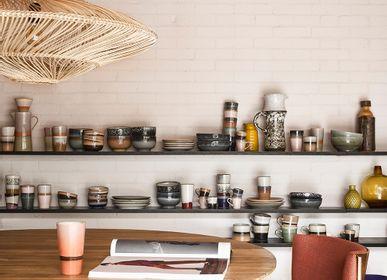 Tables - Pillar dining table round teak - HKLIVING