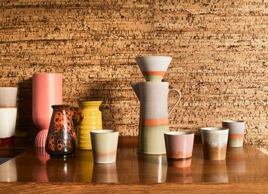 Mugs - ceramic cups 70s - HKLIVING