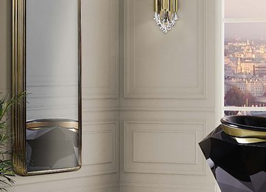 Bathroom furniture - Colosseum Tall Storage display case - MAISON VALENTINA
