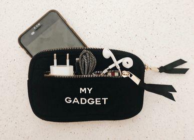 Accessoire de voyage / valise - Mini organisateur gadget passepoil noir - BAG-ALL