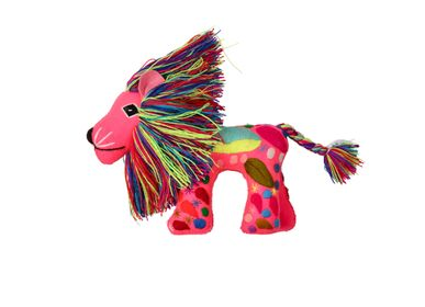 Decorative objects - Magic Lion Puppet - PINK PAMPAS