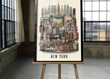 Affiches - New York poster - MARTIN SCHWARTZ