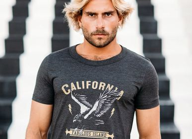 Prêt-à-porter - T-SHIRT EAGLE CALIFORNIA - FABULOUS ISLAND LTD