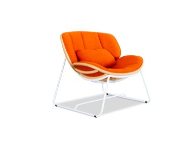 Lounge chairs - Tortue Lounge Chair - VIVERE COLLECTION