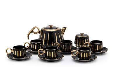 Carafes - Tea set - Tea pot and cup n saucer - SHAZE LUXURY RETAIL PVT LTD