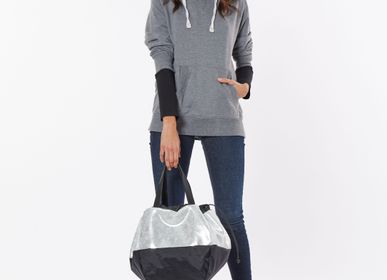 Bags / totes - BAG LOVE AFFAIR LEATHER GLITTER SILVER - DALZOTTO