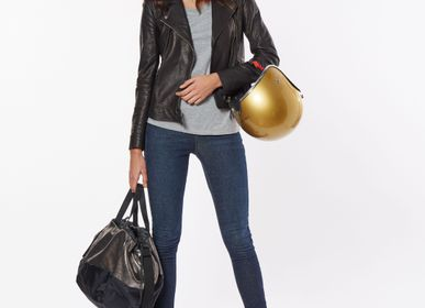 Bags / totes - BAG LOVE AFFAIR LEATHER GLITTER GREY - DALZOTTO