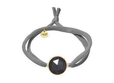 Jewelry - Cyclops Onyx Black - MON PTIT BRASSLET