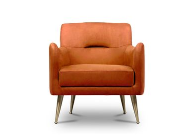 Lounge chairs for hospitalities & contracts - Dandridge | Armchair - ESSENTIAL HOME