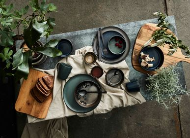 Everyday plates - RAW Metallic Brown, Midnight Blue & North Green - AIDA RAW