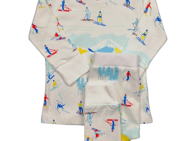 Children's fashion - Ski Pyjamas - 1 piece or 2 pieces - CHANGE MA COUCHE