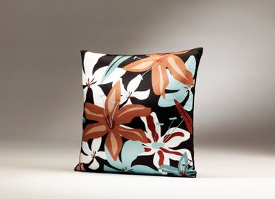 Fabric cushions - DALILA silk cushion  - MY FRIEND PACO