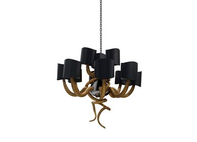 Plafonniers - Serpentine Chandelier  - COVET HOUSE
