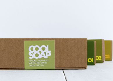 Gift - ESSENTIALS GIFT BOX OF 3 SOAPS - COOL SOAP