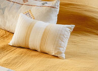 Fabric cushions - COUSSIN LOLA, Ocher - COUTUME