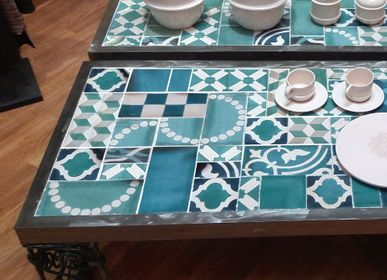 Coffee tables - TABLE BASSE PATCHWORK - MADE IN DIVA