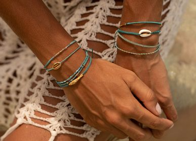 Bijoux - Bracelet Grigri Nosy Be Dore  - FILAO BIJOUX