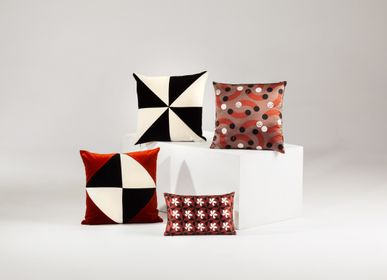 Fabric cushions - DIAMOND velvet cushion - MY FRIEND PACO