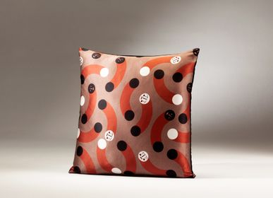 Fabric cushions - MUSH MUSH silk cushion - MY FRIEND PACO