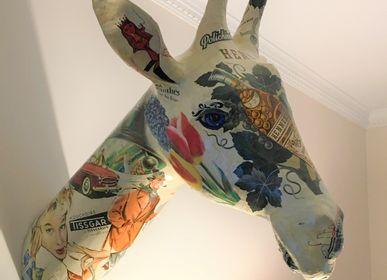 Wall decoration - Giraffe Trophy - ATELIERNOVO