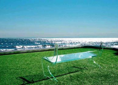 Bancs - Glass Bench GALASSIA - VETROGIARDINI