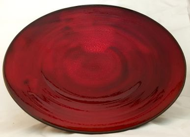 Platter and bowls - Plate - The earth, the bark of the world - MARION RICHAUME
