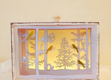 Objets de décoration - Tiroir LED hiver oiseau - KOELNSCHAETZE