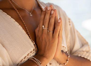 Bijoux - Bracelet Mala Rudraksha Arg 925  - FILAO BIJOUX