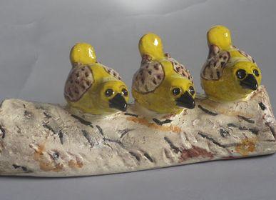 Sculptures, statuettes et miniatures - SCULPTURE  OISEAUX - MARYLINE