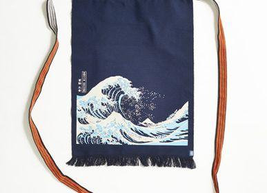 Linge de table textile - Série ART MAEKAKE _UKIYOE (La Grande Vague/The Red Mt. Fuji/Sharaku) - MAEKAKE BY ANYTHING CO.,LTD.