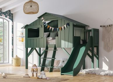 Beds - SLIDE TREEHOUSE BEDS - MATHY BY BOLS