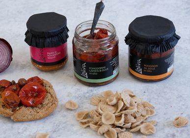 Condiments - Tomates câpres et olives à l'huile d'olive - LOLIVA    PUGLIA  SALENTO