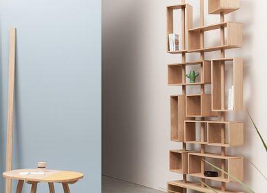 Bookshelves - 3 MÂTS Bookcase - DRUGEOT MANUFACTURE